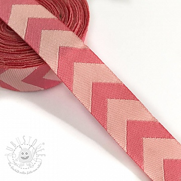 Band Chevron light pink
