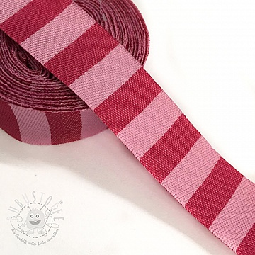 Band Stripe fuchsia