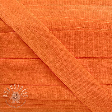 Elastisches Schrägband Polyamide matt 20 mm orange