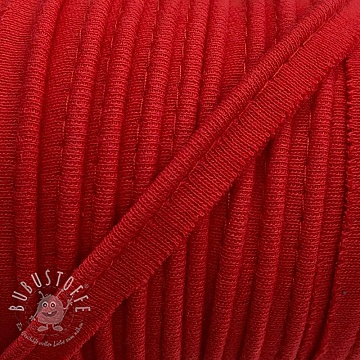 Paspelband jersey red