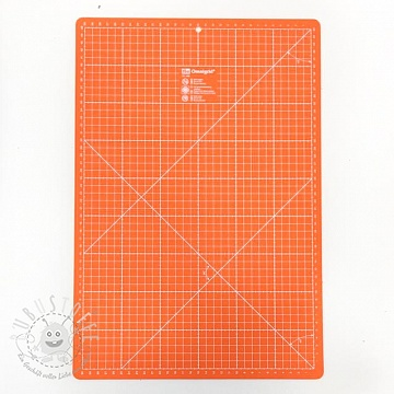 Schneidematte PRYM 30 x 45 cm orange