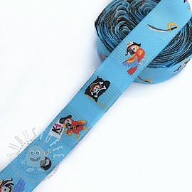 Band Pirate light blue