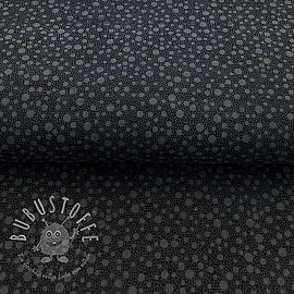 Baumwollstoff QUILTING ILLUSIONS Dots black 2.Klasse