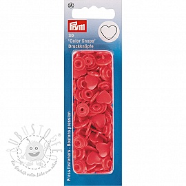 Colorsnaps PRYM Heart red