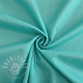 Cotton voile aqua