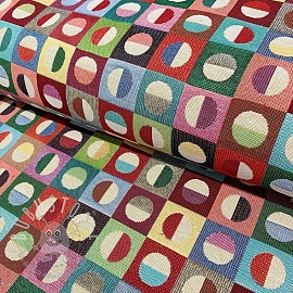 Dekostoff GOBELIN COLOURFUL DOTS