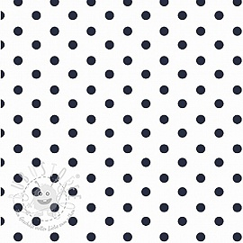 Dots white/navy