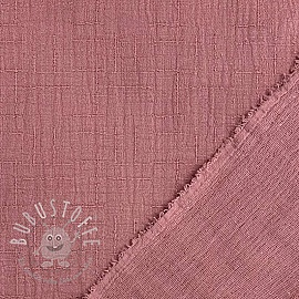 Double gauze/musselin Bamboo old pink