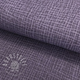 Double gauze/musselin Snoozy fabrics Dirty wash lavender