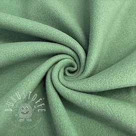 Fleece baumwoll old green