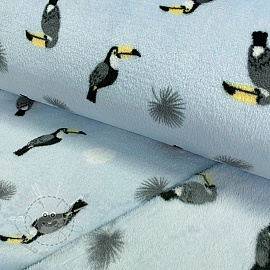Fleece Wellness Toucan light blue