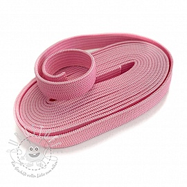 Gummiband 10 mm light pink 2 m Karte