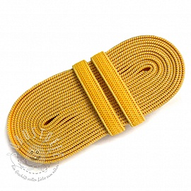 Gummiband 6 mm yellow 2 m Karte