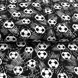 Jersey B and W Soccer