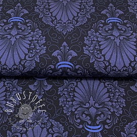 Jersey Baroque blue