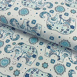Jersey Elephant  light blue