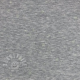 Jersey Glow in the dark Stars grey melange