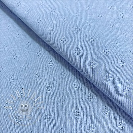 Jersey pointoille MINI light blue
