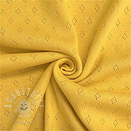 Jersey pointoille yellow