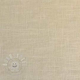 Linen enzyme washed beige