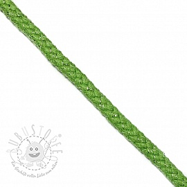 Lurexkordel 10 mm green