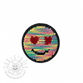 Pailletten reversibel SMALL Emoji
