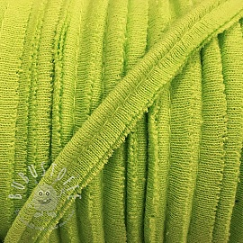 Paspelband jersey lime