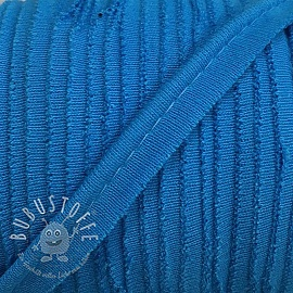 Paspelband jersey turquoise