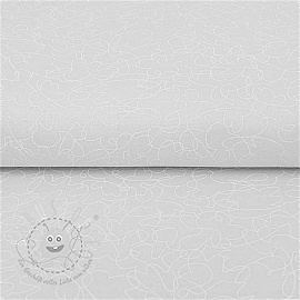 QUILTING ILLUSIONS Scribble white