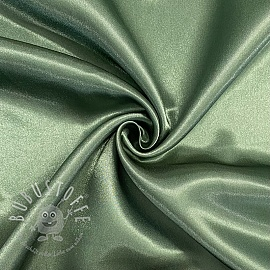 Satin old green