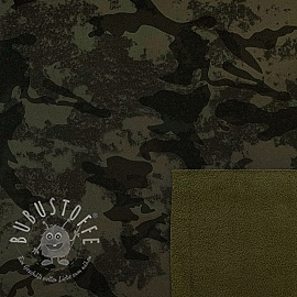 Softshell Camouflage dark green