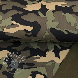 Softshell Camouflage green