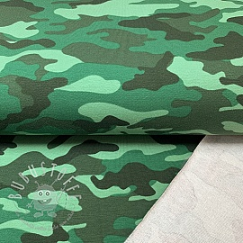 Sommersweat Camouflage green