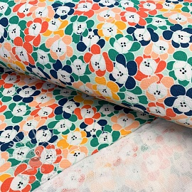 Sommersweat Floral moments green