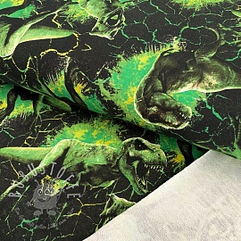 Sommersweat Jurassic world Attack green digital print