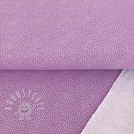 Sommersweat Tiny dots lilac