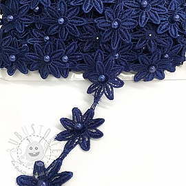 Spitzen Bloom dark blue