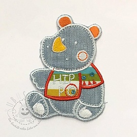 Sticker BASIC Hippo