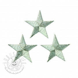 Sticker BASIC Stars silver