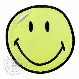 Sticker BIG Smiley yellow