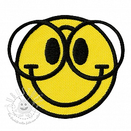 Sticker MIDI Smiley Nerd