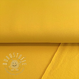 Sweat kuschel soft GOTS bright yellow