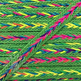Twisted kordel NEON lime