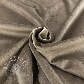 Velour taupe