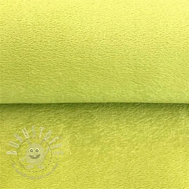 Wellsoft fleece limetten