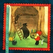 Baumwollstoff READING TOGETHER Poppi loves picture patches panel
