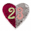 Pailletten reversibel Heart 23