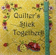 Baumwollstoff THE QUILTED COTTAGE Sewing phrases panel