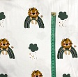 Jersey Lion with bow old green